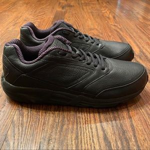 BROOKS Addiction Walker LINEAR PLATFORM Blk Shoes